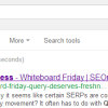 Is Freshness Important for Google?